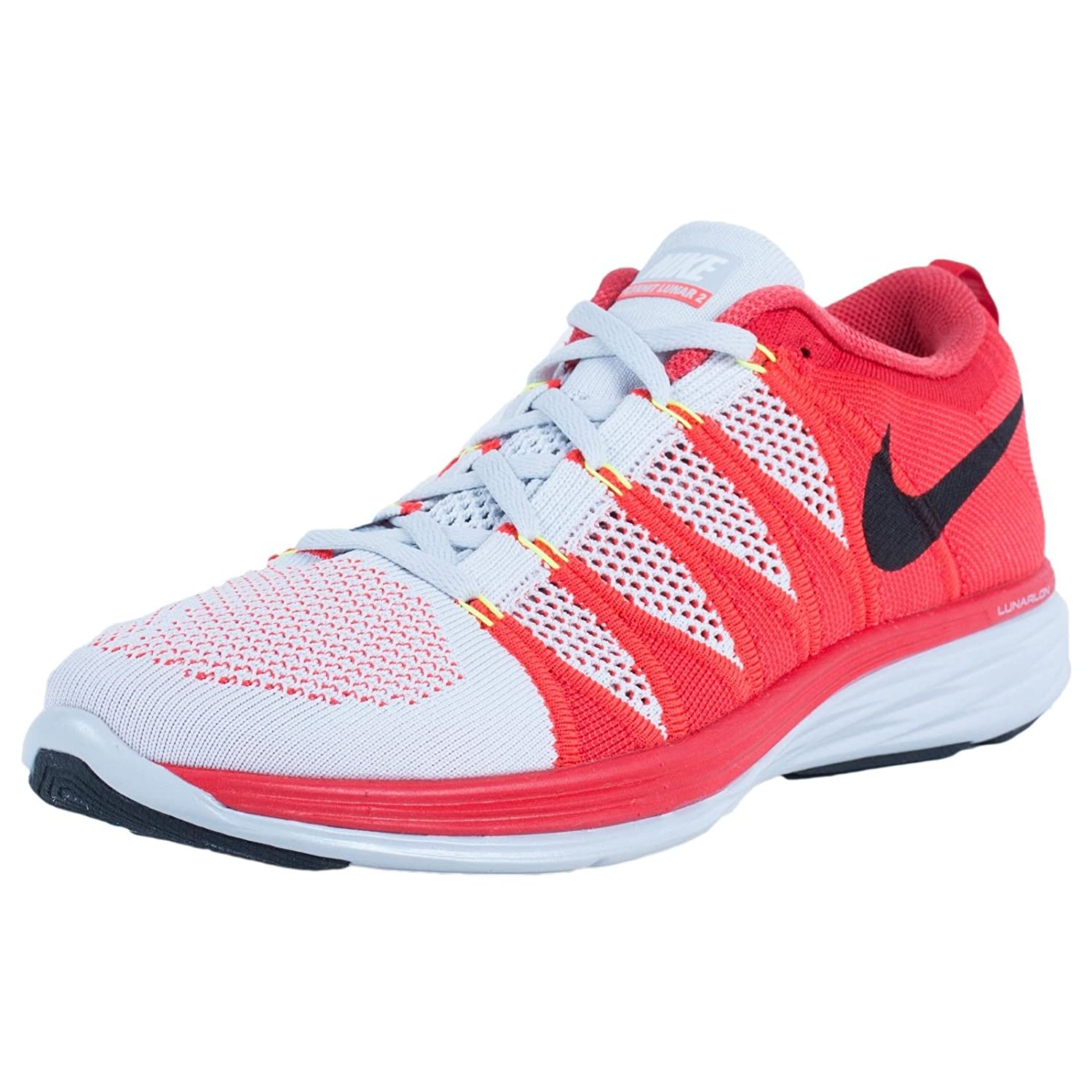the latest f3e58 ee08b Nike Flyknit Lunar2 Mens Running Shoes 620465-714 Volt 7 M US  Buy Online  at Low Prices in India - Amazon.in