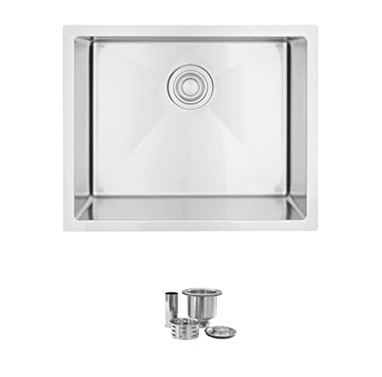 Drop In Utility Sink Stainless.22 Inch Drop In Or Undermount Single Bowl Laundry Sink By Stylish