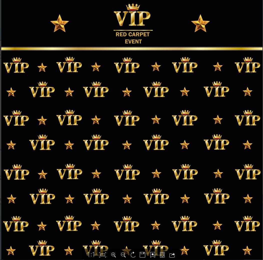 5x7ft royal crown black hollywood vip banner backdrop Computer printed Birthday Adults children party wedding background ly-2018317