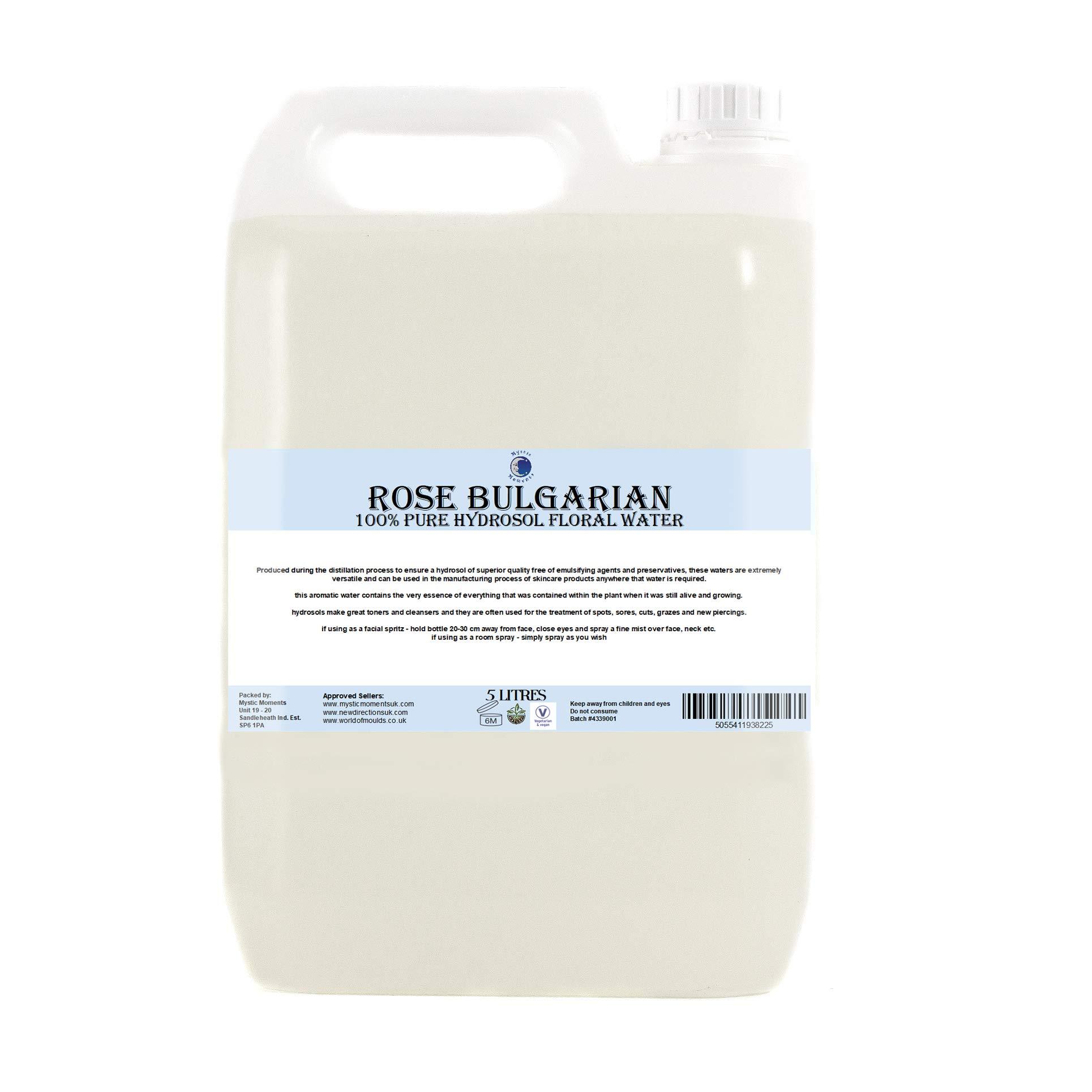 Rose Bulgarian Hydrosol Floral Water - 5Kg by BiOrigins (Image #1)