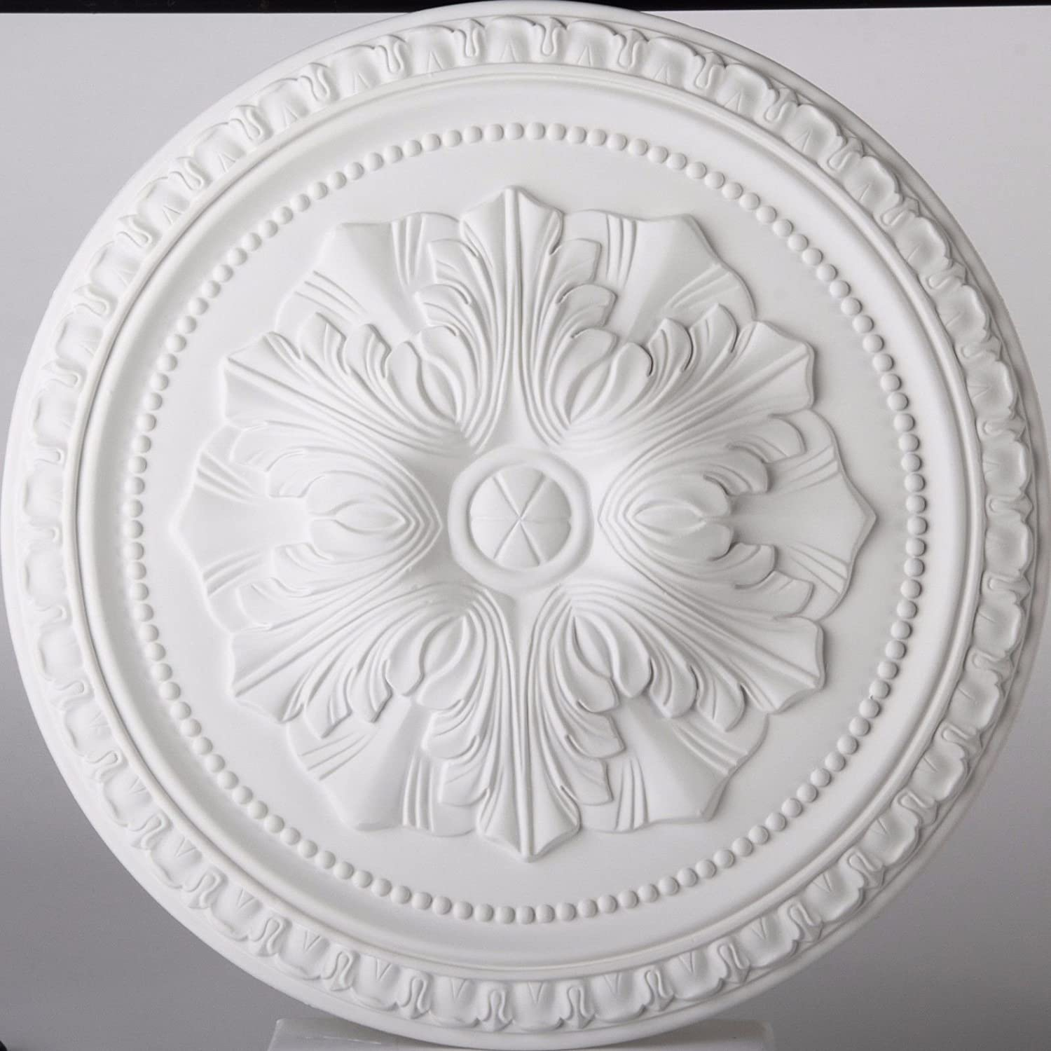 Ceiling Rose Flavia Lightweight Resin Mould Not Polystyrene Easy to Fix 45cm Copleys