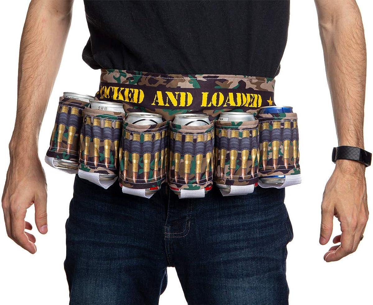 Unisex Novelty Beverage Holder Party Beer Belt