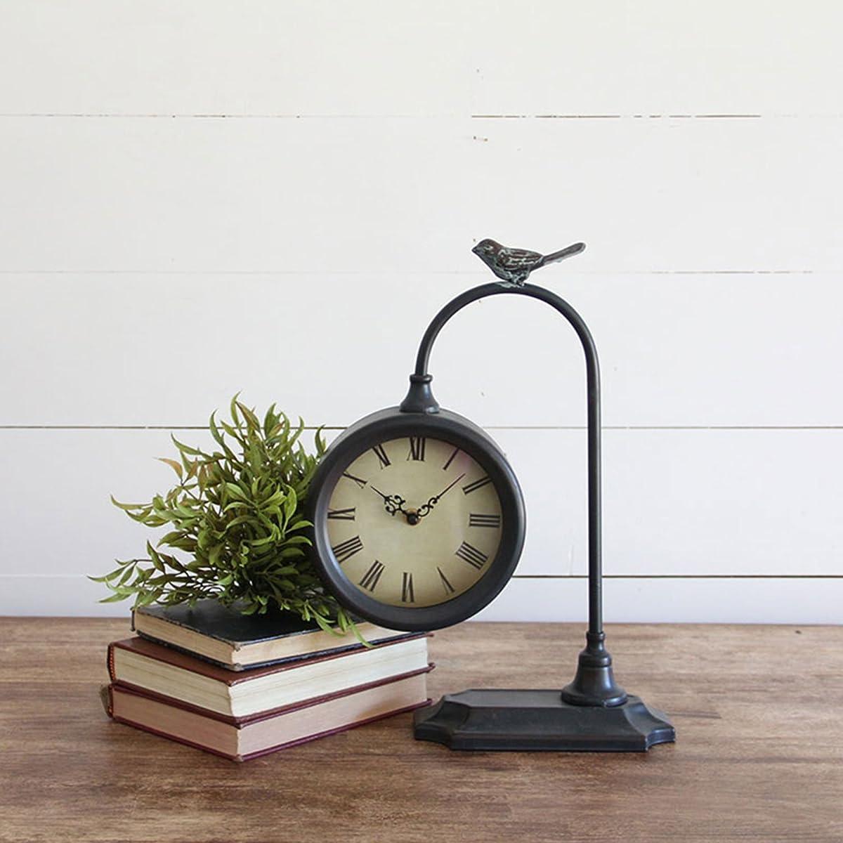 Foreside Home & Garden Bird Table Clocks