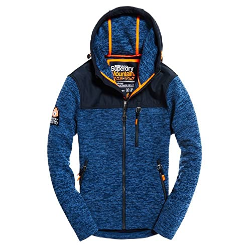 Mens Sweatshirts Ziphood Storm Blau Superdry Mountain 3xl l1F3KTuJc5