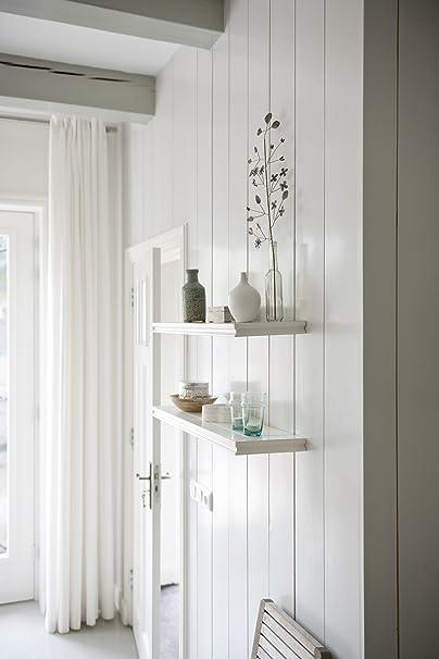 Fetim BOrganised Classic Floating Wall Shelf 315 Inch 1 Piece White 1150960 Amazoncouk DIY Tools