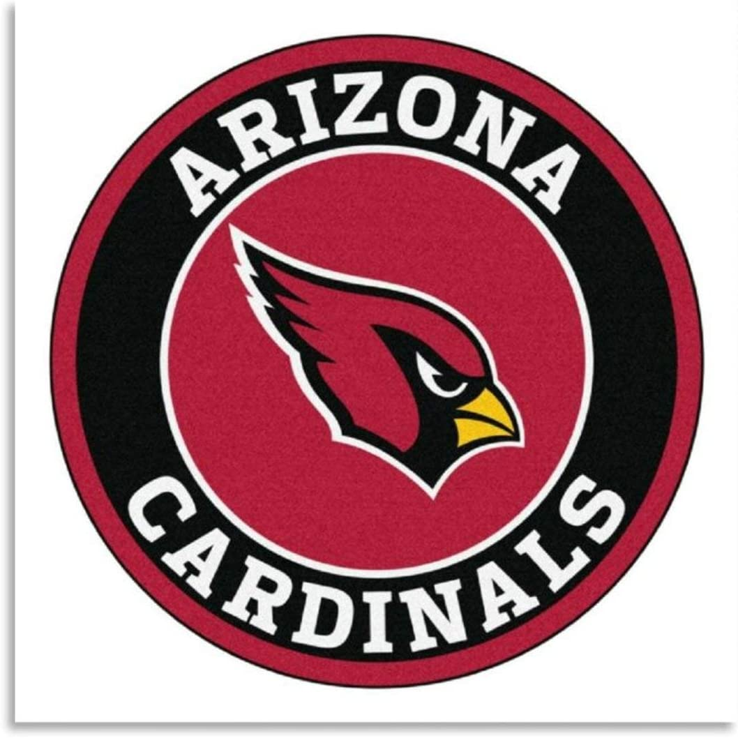 YOSON Arizonas-Cardinals Wall Art Decor Canvas Painting Poster Print Canvas Art Pictures for Room Home Decor Unframe-style120x20inch(50x50cm)