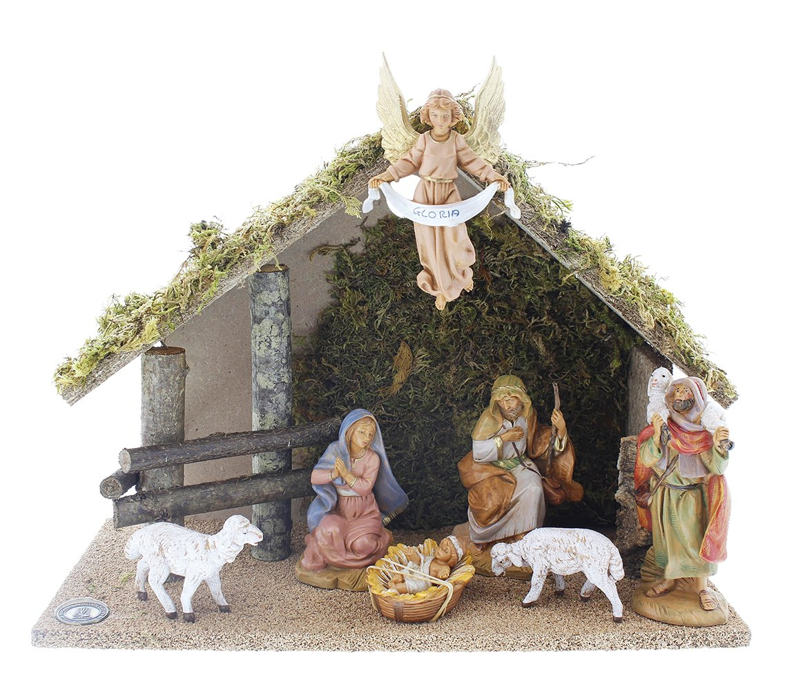 Nativity Set with Italian set