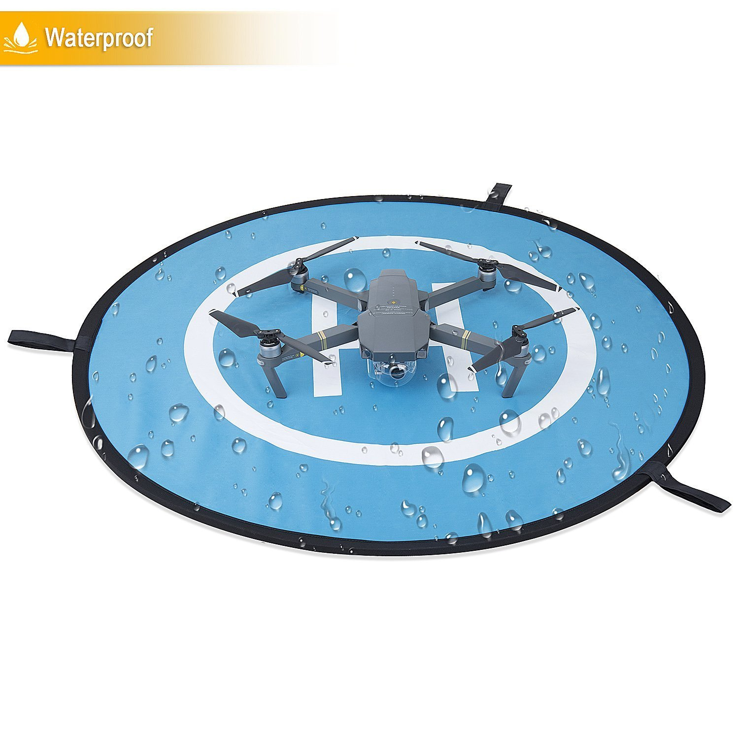 Drone Landing Pad- Universal Portable Foldable Drones Landing Pad For RC Drones Helicopter, PVB Drones, DJI Mavic Pro Phantom 2/3/4/ Pro, Antel Robotic, Holy Stone Gopro Kama, Parrot, 3DR Solo and So on