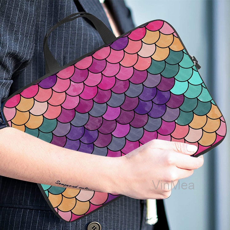 Neoprene Sleeve Laptop Handbag Case Cover Patchword Portable Laptop//Ultrabooks Case Bag Cover 12 Inch