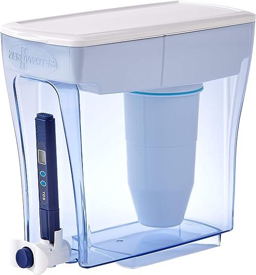 Sistema de filtración de agua de 4,7 litros, con Medidor de ...
