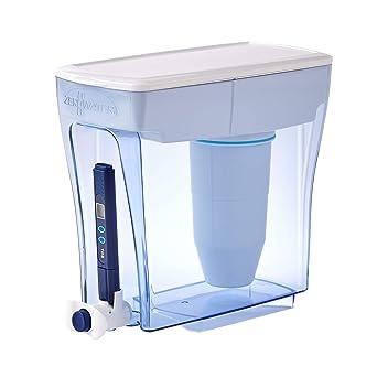Sistema de filtración de agua de 4,7 litros, con Medidor de Calidad de Agua Gratis