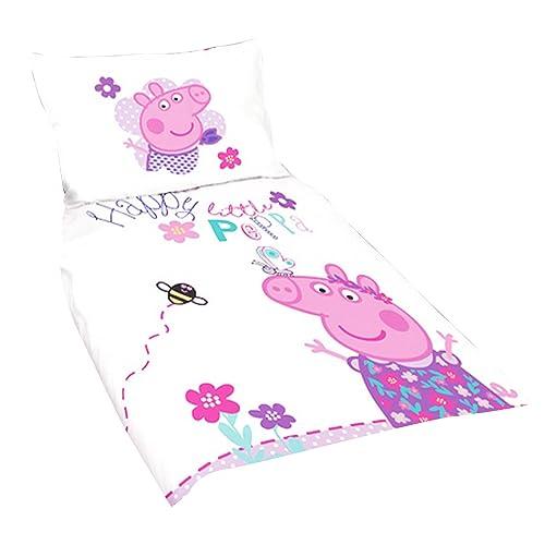 Peppa Pig Toddler Bedding Amazon Co Uk