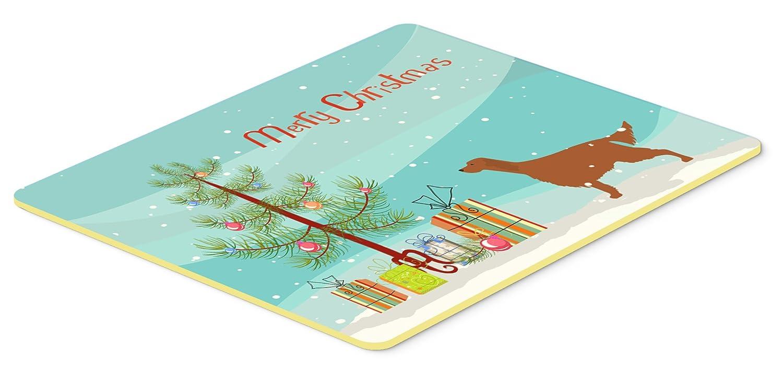 Caroline 's Treasures Irish Setter Merryクリスマスツリーキッチンやバスマット24 x 36 bb2911jcmt、24hx36 W、マルチカラー   B01LYER5XQ