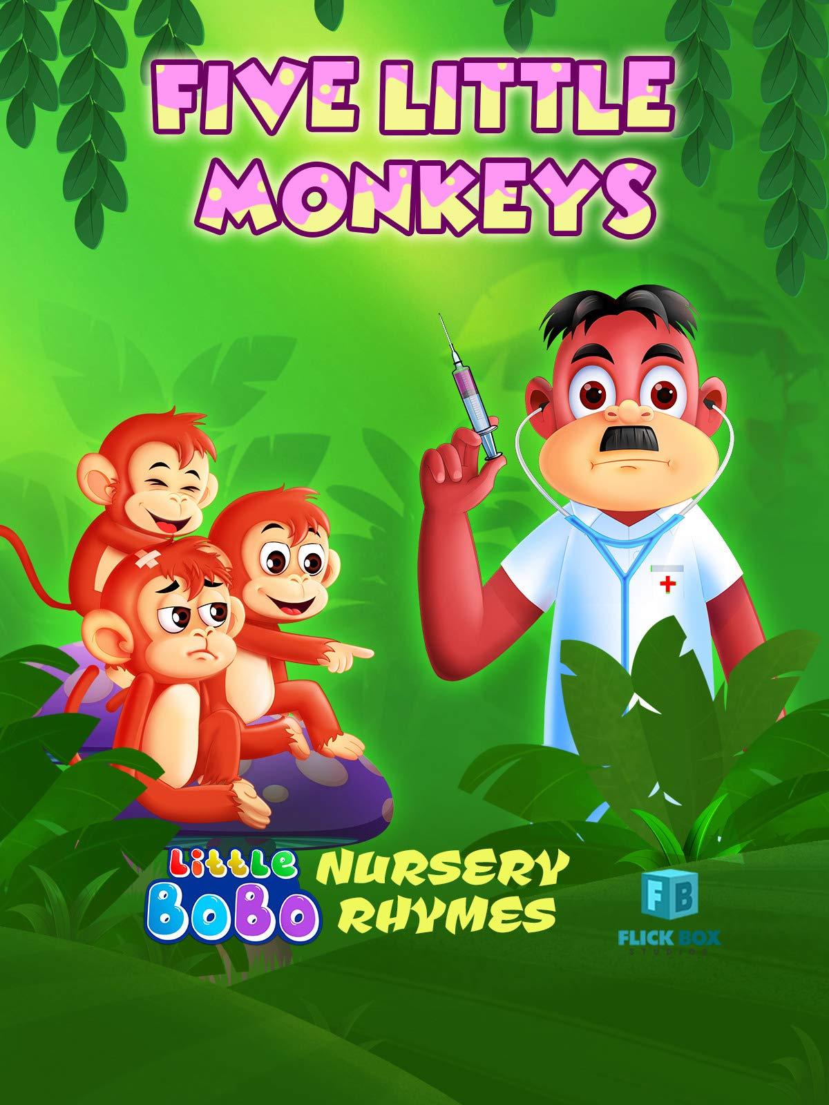 Five Little Monkeys Nursery Rhymes on Amazon Prime Video UK