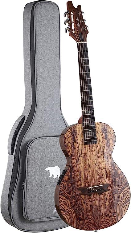 PolarBear Guitarra acústica eléctrica de 36 pulgadas – Guitarra ...