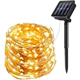 ECOWHO Solar String Lights Outdoor, 72ft 200 LED Solar Powered Fairy Lights Waterproof Decorative Lighting for Patio…