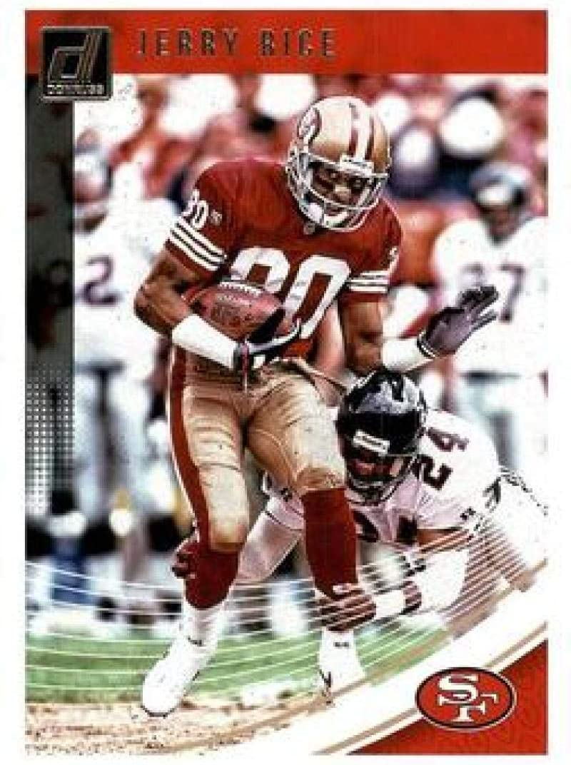 2018 Donruss Football #229 Jerry Rice San Francisco 49ers Official NFL Trading Card