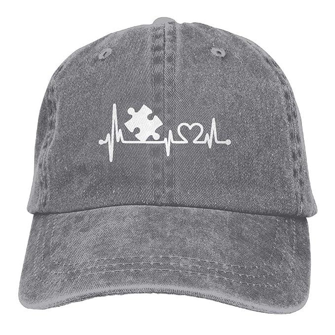 91d316837ec BETARISE Autism Heart Puzzle Autism Awareness Baseball Cap Dad Hat  Adjustable Hat Trucker Cap at Amazon Men s Clothing store