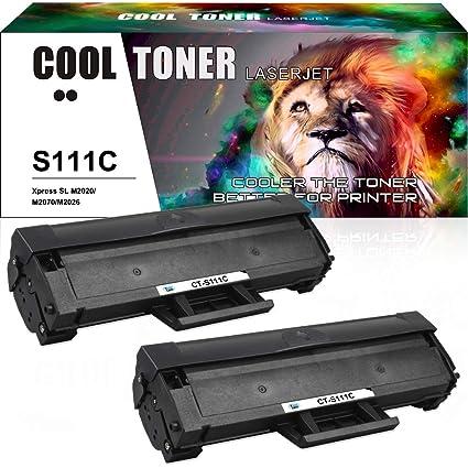 Cool Toner Pack de 2 Compatible Cartucho de Tóner Negro MLT ...