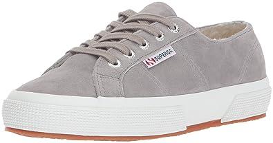 Superga Women's 2750 Kidsuew Fashion Sneaker, Grey, ...