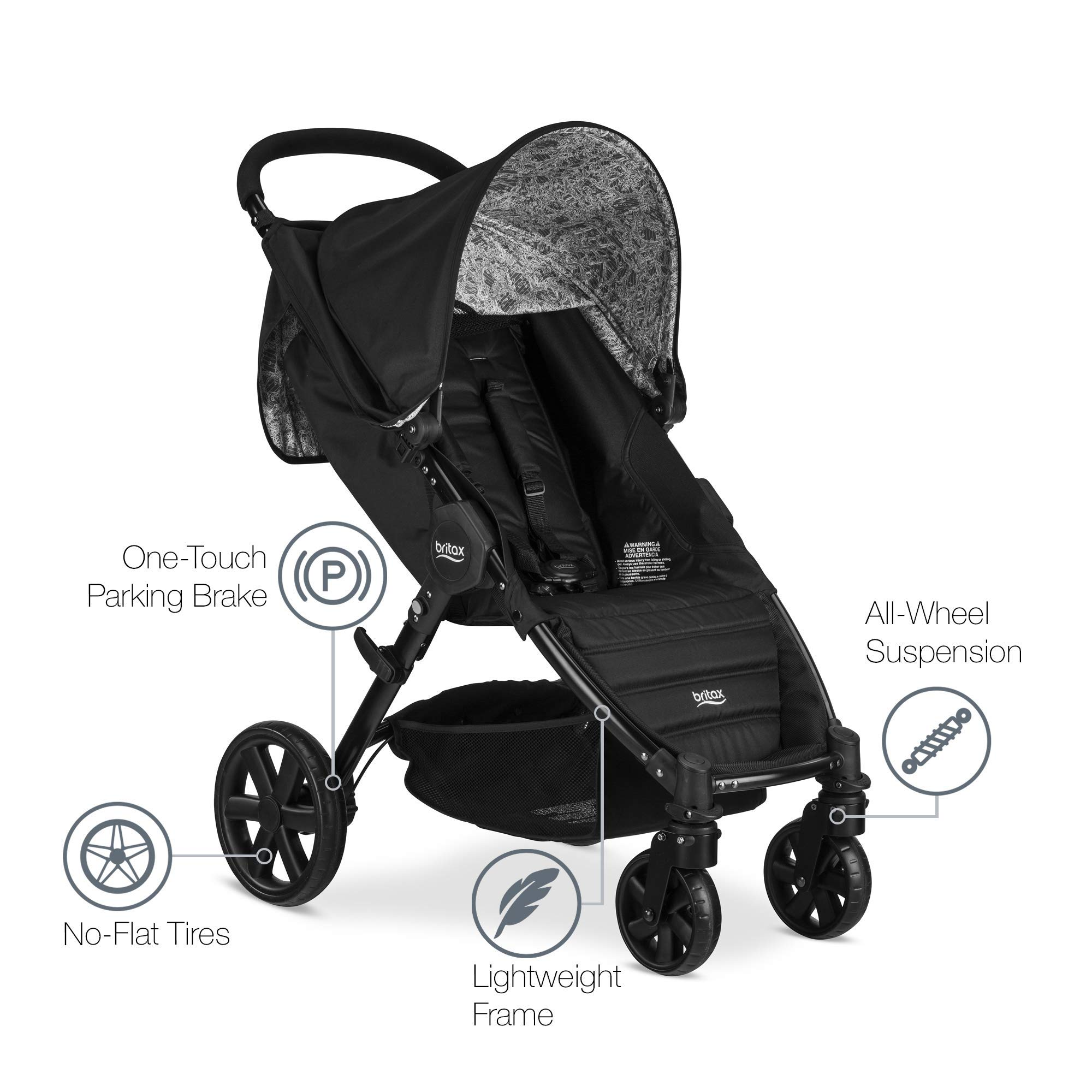 Britax Pathway & B-Safe Ultra Travel System, Sketch by BRITAX (Image #9)