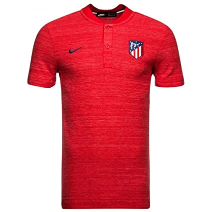 Image Unavailable. Image not available for. Color  Nike 2018-2019 Atletico  Madrid Authentic Grand Slam Polo ... 789d859f2