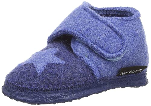 Nanga Stern, Mocasines para Bebés Que Gatean, Azul (Blau 30), 21 EU: Amazon.es: Zapatos y complementos