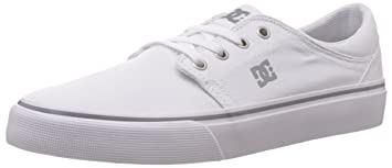 a8dcd1511a257 DC Shoes Mens Shoes Trase Tx - Low Shoes - Unisex - US 5.5 - White White US  5.5 / UK 4.5 / EU 37.5