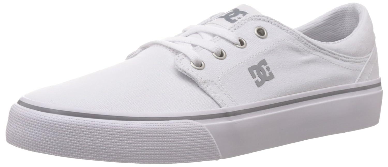 DC Men's Trase TX Unisex Skate Shoe B00L9DUL3S 11.5 D(M) US|White