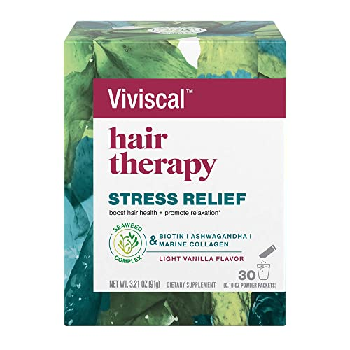 Viviscal Hair Therapy Stress Relief Diet…