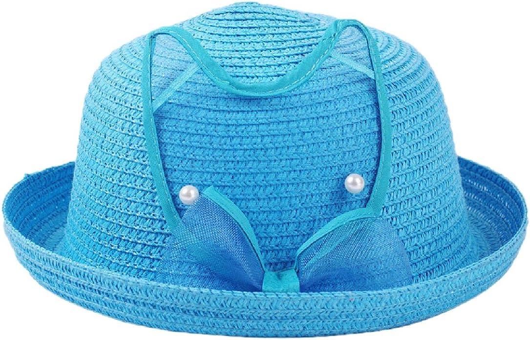 YABINA Straw Baby Floppy Sun Hat For Girls Boys Children
