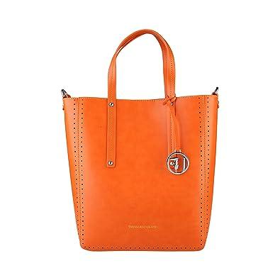 Damen Einkaufstasche, Orange, One Size Trussardi