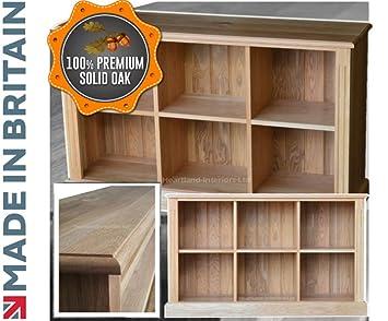 100 Solid Oak Bookcase Vinyl