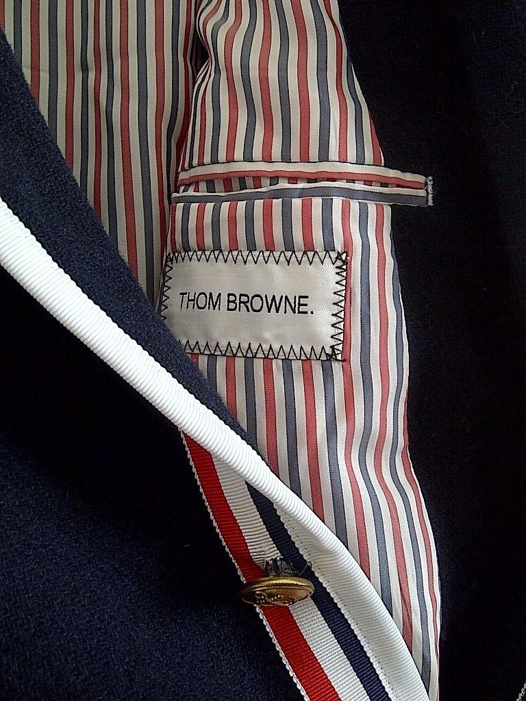 Thom Browne for Neiman Marcus + Target Navy Wool Blazer Size Medium by Thom Browne (Image #8)