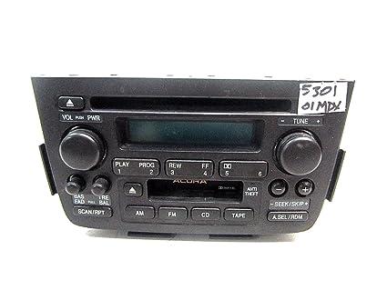 Amazoncom ACURA MDX CD CASSETTE PLAYER RADIO Car - Acura mdx cd player