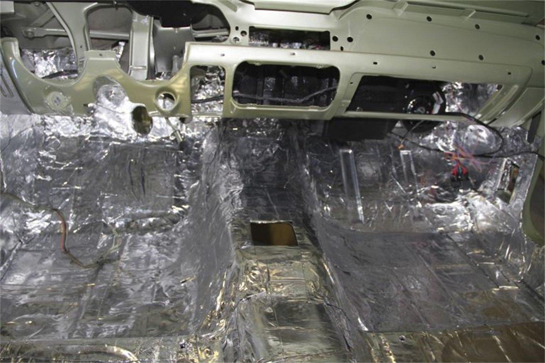Hushmat 663062 Sound and Thermal Insulation Kit 2002-2008 Dodge Ram Regular Cab Firewall