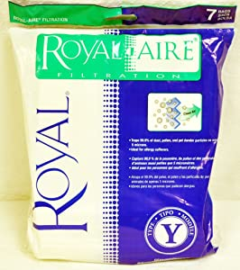 Royal Y Vacuum Bags royal-aire y bags
