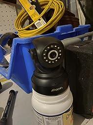Amazon.com : ROCAM Wireless IP Dome Camera, Black (NC300-I) : Camera