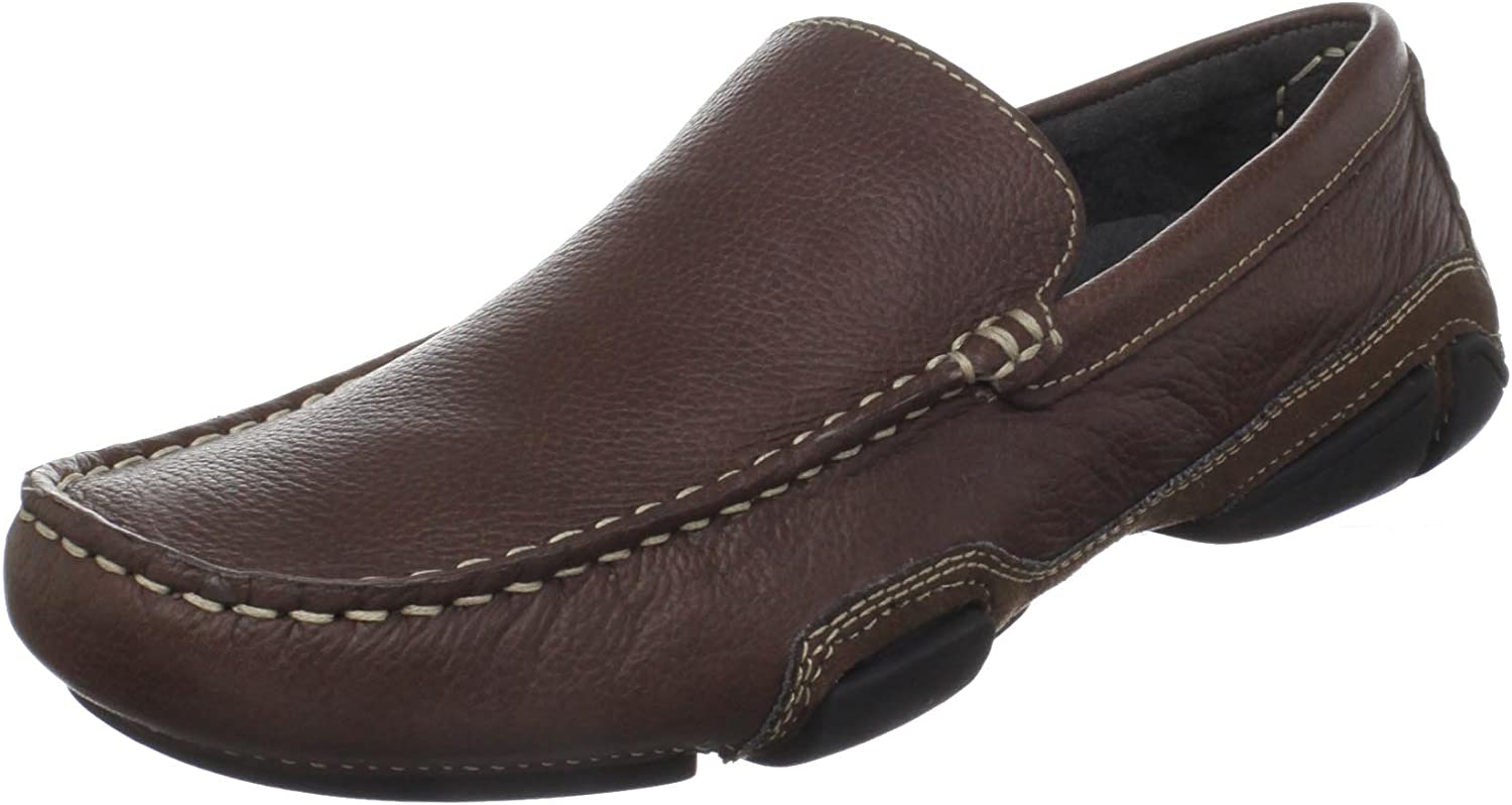 Kenneth Cole REACTION Men's World Popular overseas Hold 10 Manufacturer regenerated product US On Brown M