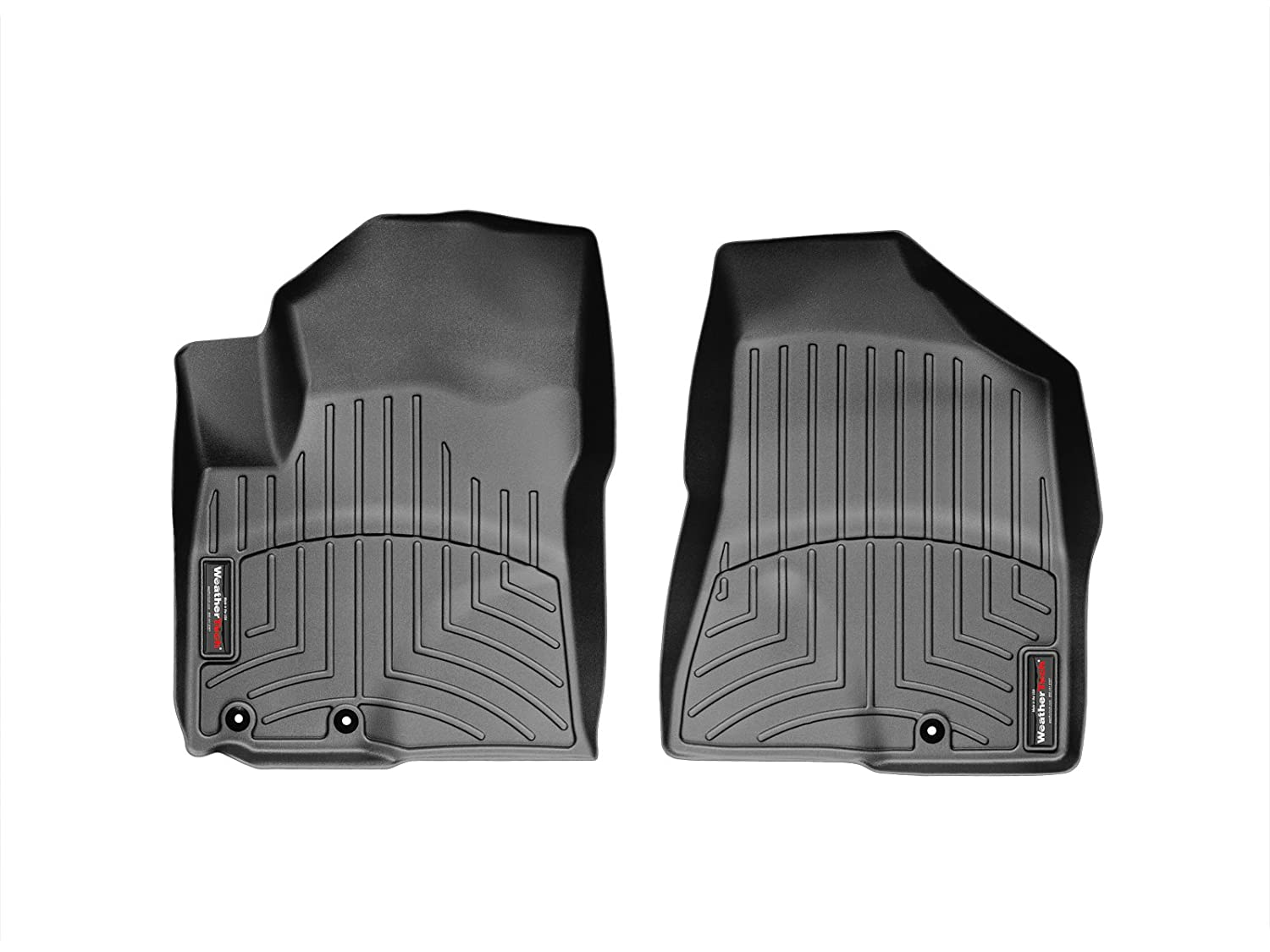 WeatherTech Custom Fit Front FloorLiner for Kia Sorento Black