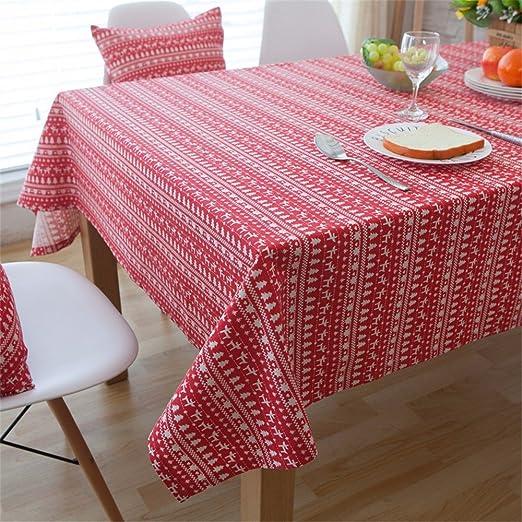 WanJiaMenShop La Ropa de algodón Fresca pequeña mesas de Comedor ...