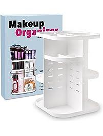 terresa 360 rotating makeup organizer bathroom - Bathroom Makeup Organizers