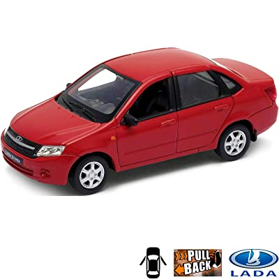 Russian Toys 1:36 Scale Diecast Metal Model Lada Cranta Cars: Toys & Games