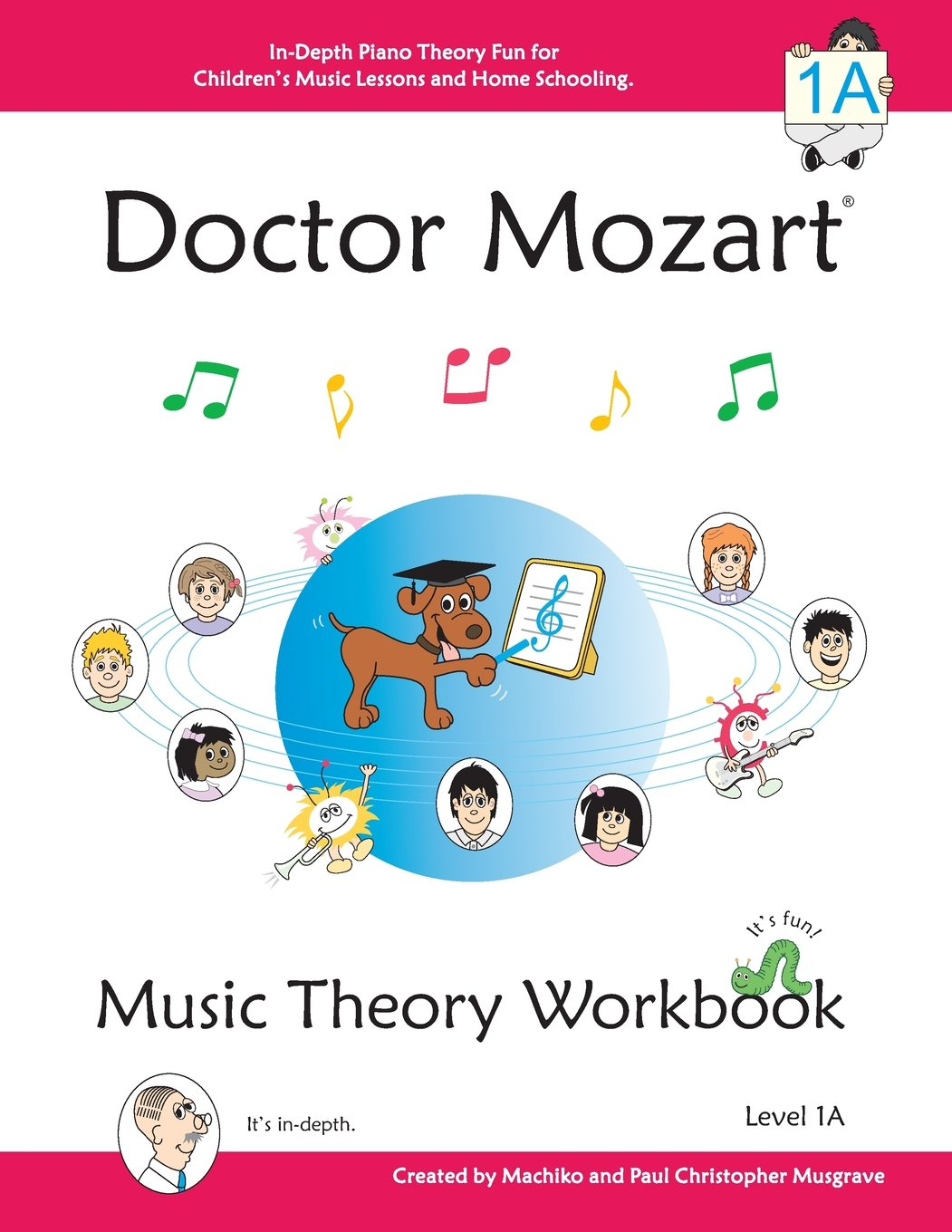 Doctor Mozart Theory Workbook Depth product image