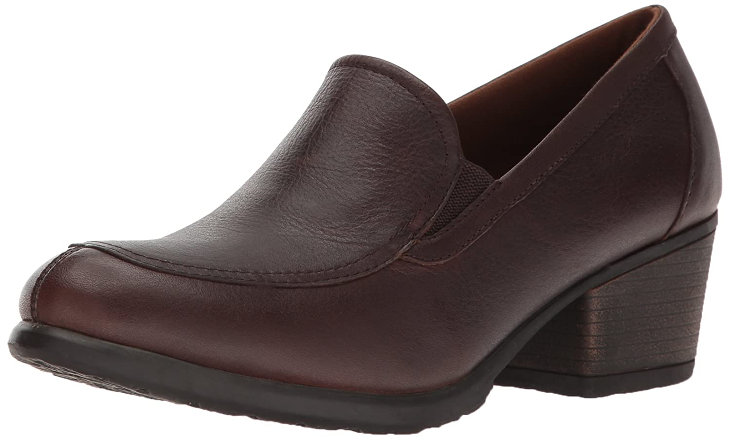 Eastland Women's Tonie Twin Gore Slip On B01N7PNALC 7 B(M) US|Brown