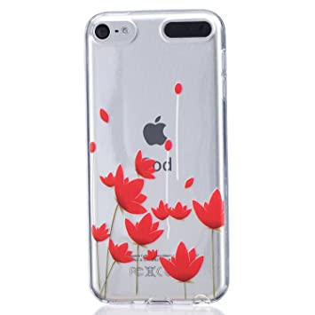 coque apple ipod touch 6 - 5 generation, cozy hut etui ultra mince housse silicone transparent pour apple ipod