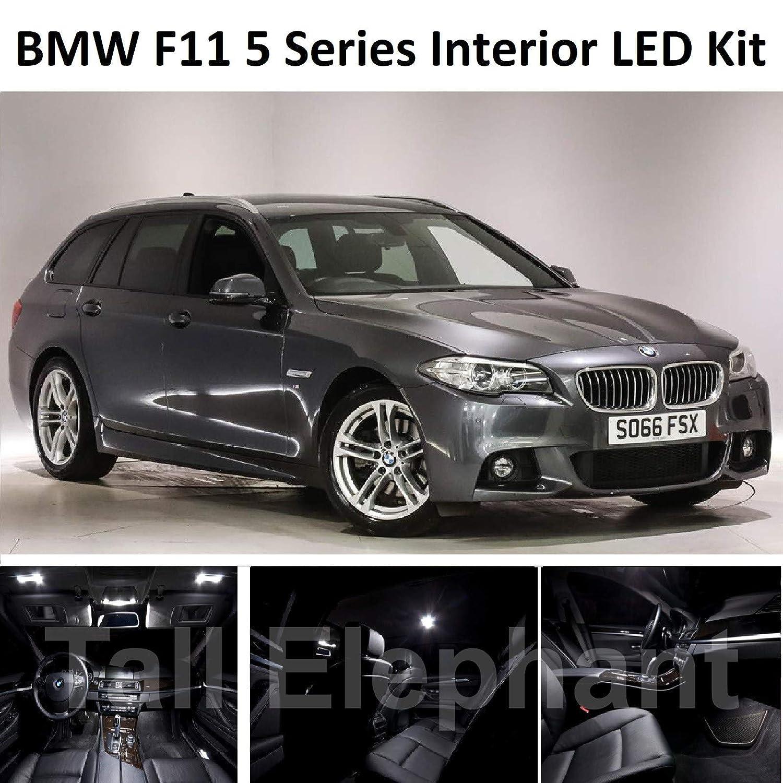 High Elephant Premium F11 Serie 5 Estate Full LED Light Upgrade White Xenon Interior Kit