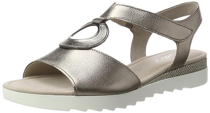 Gabor Shoes Comfort, Sandales Bout Ouvert Femme, Marron (Mutaro Glamour),  42.5 9102e523b50
