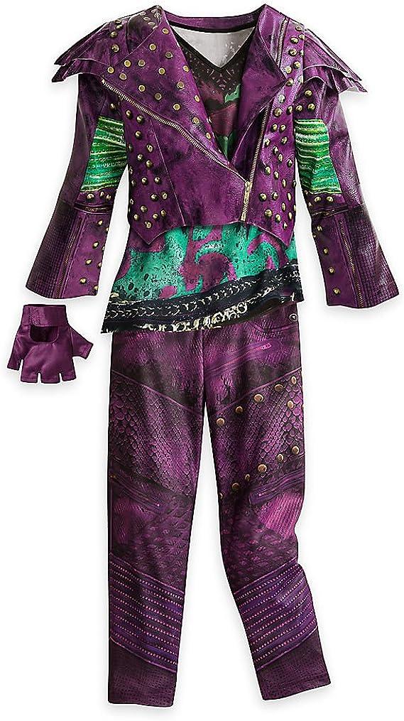 Disney Mal Costume for Kids - Descendants 2: Amazon.es: Ropa y ...
