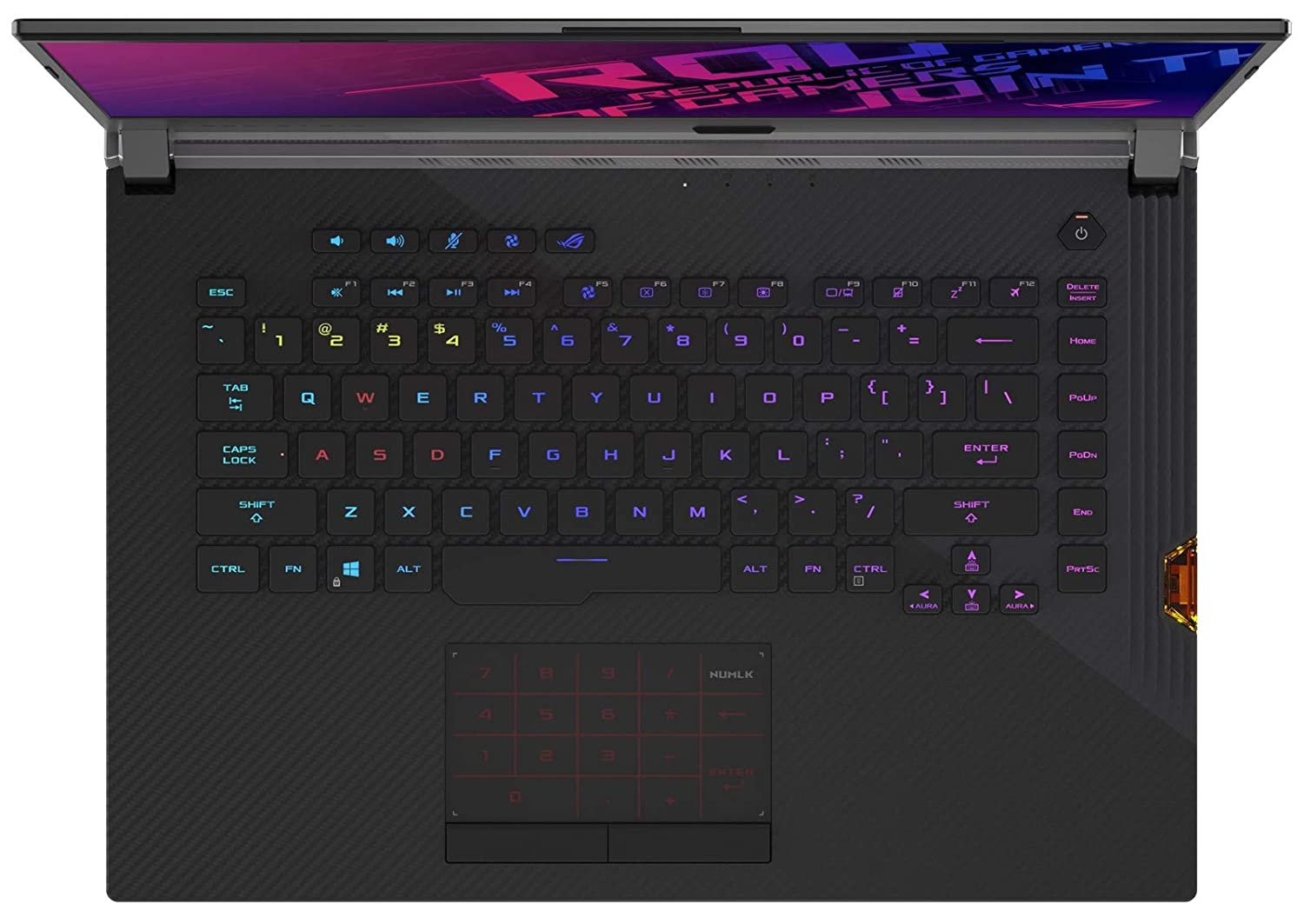 ASUS ROG Strix Scar III G531GW-XB96 i9-9880H, 32GB RAM, 1TB NVMe SSD 1TB SSHD, NVIDIA RTX 2070 8GB, 15.6 Full HD 240Hz 3ms, Windows 10 Pro VR Ready Gaming Notebook